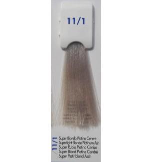Tinta senza ammoniaca Super Biondo Platino Cenere 11/1 100ml Bionic Inebrya Color - prodotti per parrucchieri - hairevolution...