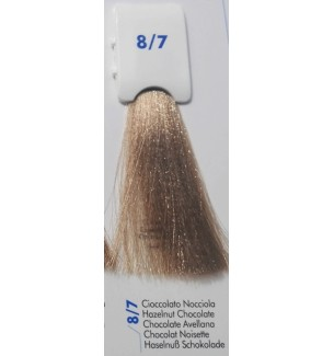 Tinta senza ammoniaca Cioccolato Nocciola 8/7 100 ML Bionic Inebrya Color - prodotti per parrucchieri - hairevolution prodotti