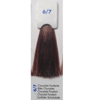 Tinta senza ammoniaca Cioccolato Fondente 6/7 100 ML Bionic Inebrya Color - prodotti per parrucchieri - hairevolution prodotti