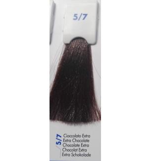 Tinta senza ammoniaca Cioccolato Extra 5/7 100 ml Bionic Inebrya Color - prodotti per parrucchieri - hairevolution prodotti