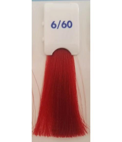 Tinta senza ammonica Biondo Scuro Rosso Caldo 6/60 100 ML Bionic Inebrya Color - prodotti per parrucchieri - hairevolution pr...