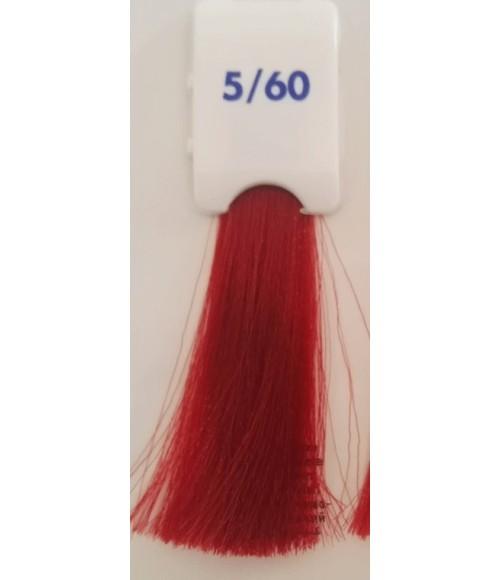 Tinta senza ammoniaca Castano Chiaro Rosso Caldo 5/60 100 ML Bionic Inebrya Color - prodotti per parrucchieri - hairevolution...