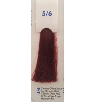 Tinta senza ammoniaca Castano Chiaro Rosso 5/6 100 ML Bionic Inebrya Color - prodotti per parrucchieri - hairevolution prodotti