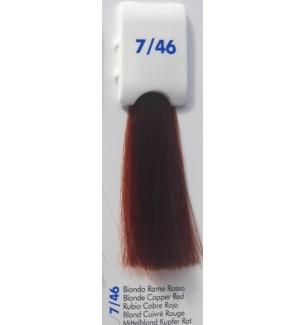 BIONDO RAME ROSSO 7/46 100 ML Bionic Inebrya Color - prodotti per parrucchieri - hairevolution prodotti