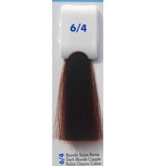 Tinta senza ammoniaca Biondo Scuro Rame 6/4 100 ml Bionic Inebrya Color - prodotti per parrucchieri - hairevolution prodotti
