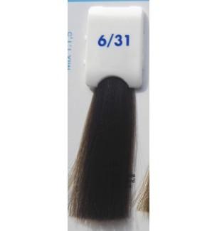 Tinta senza ammoniaca Biondo Scuro Sabbia 6/31 100 ml Bionic Inebrya Color - prodotti per parrucchieri - hairevolution prodotti