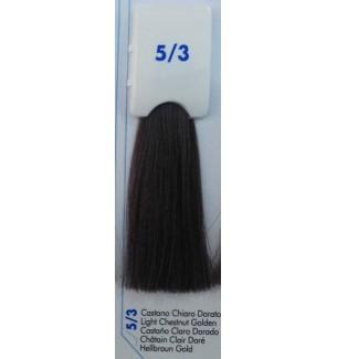Tinta senza ammoniaca Castano Chiaro Dorato 5/3 100 ml Bionic Inebrya Color - prodotti per parrucchieri - hairevolution prodotti