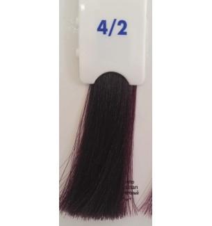 Tinta senza ammoniaca Castano Viola 4/2 100 ml Bionic Inebrya Color - prodotti per parrucchieri - hairevolution prodotti