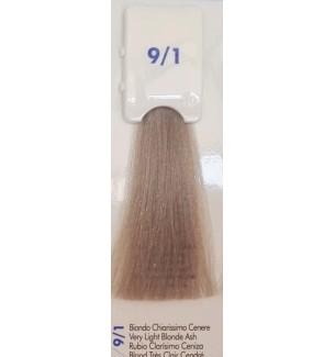 Tinta senza ammoniaca Biondo Chiarissimo Cenere 9/1 100 ml Bionic Inebrya Color - prodotti per parrucchieri - hairevolution p...