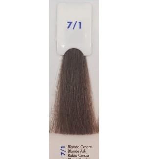 Tinta senza ammoniaca Biondo Cenere 7/1 100 ml Bionic Inebrya Color - prodotti per parrucchieri - hairevolution prodotti