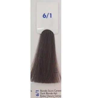 Tinta senza ammoniaca Biondo Scuro Cenere 6/1 100 ML Bionic Inebrya Color - prodotti per parrucchieri - hairevolution prodotti