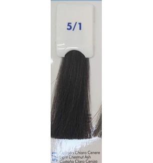 Tinta senza ammoniaca Castano Chiaro Cenere 5/1 100 ML Bionic Inebrya Color - prodotti per parrucchieri - hairevolution prodotti