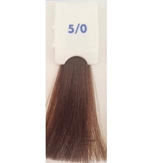 Tinta senza ammoniaca Castano Chiaro 5/0 100 ML Bionic Inebrya Color - prodotti per parrucchieri - hairevolution prodotti