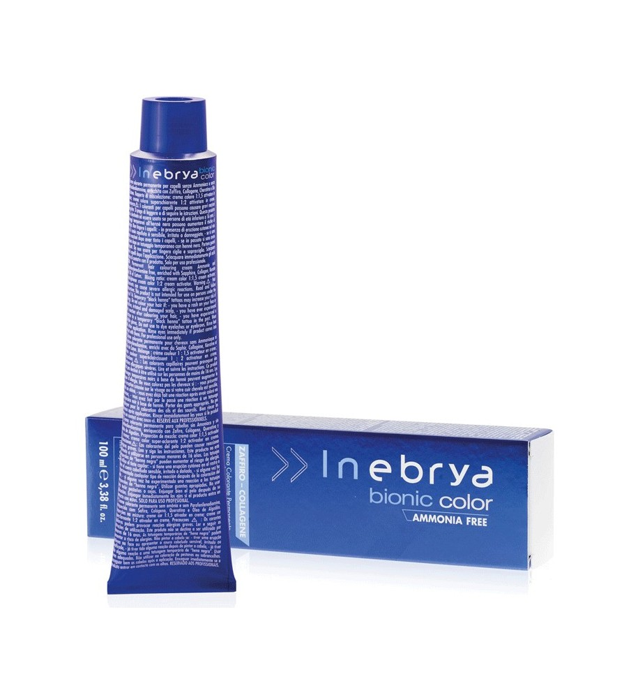Tinta senza ammoniaca Castano Scuro 3/0 100 ml Bionic Inebrya Color - prodotti per parrucchieri - hairevolution prodotti