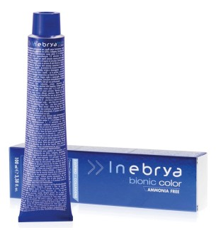 Tinta senza ammoniaca Castano Chiaro Intenso 5/00 100 ML Bionic Inebrya Color - prodotti per parrucchieri - hairevolution pro...