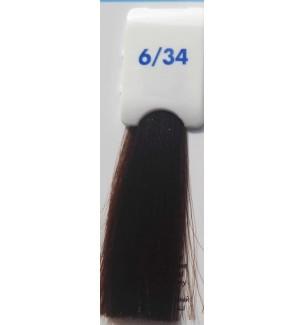 BIONDO SCURO DORATO RAME 6/34 100 ML Bionic Inebrya Color - prodotti per parrucchieri - hairevolution prodotti