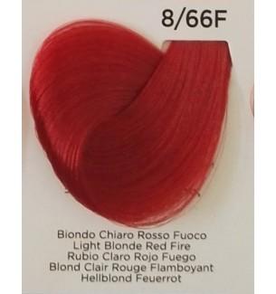 BIONDO CHIARO ROSSO FUOCO 8/66F 100 ML Inebrya Color - prodotti per parrucchieri - hairevolution prodotti
