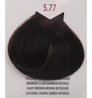 Tinta per capelli Castano Chiaro Sabbia Intenso 5.77 Life Color Plus 100 ML - prodotti per parrucchieri - hairevolution prodotti
