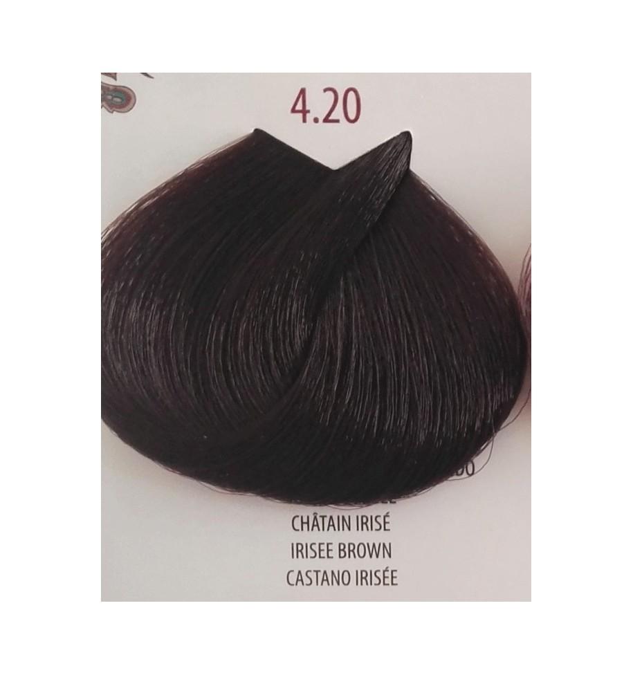 Tinta per capelli Castano Irisée 4.20 Life Color Plus 100 ml - prodotti per parrucchieri - hairevolution prodotti