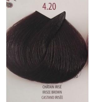 Tinta per capelli Castano Irisée 4.20 Life Color Plus 100 ml