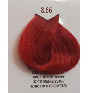 BIONDO CHIARO ROSSO INTENSO 8.66 LIFE COLOR PLUS 100 ML - prodotti per parrucchieri - hairevolution prodotti