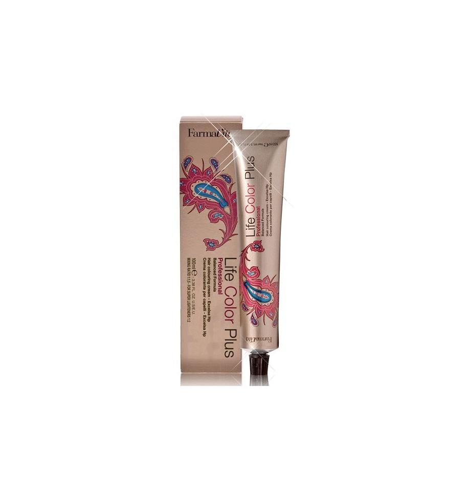Tinta Biondo Chiaro Rosso Intenso 8.66 Life Color Plus 100 ml - prodotti per parrucchieri - hairevolution prodotti
