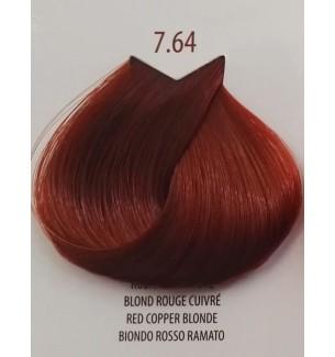 Tinta Biondo Rosso Ramato 7.64 Life Color Plus 100 ML - prodotti per parrucchieri - hairevolution prodotti