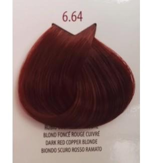 Tinta per Capelli Biondo Scuro Rosso Ramato 6.64 Life Color Plus 100 ml - prodotti per parrucchieri - hairevolution prodotti