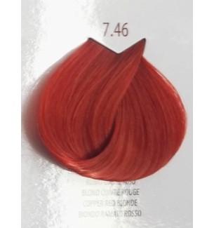 BIONDO RAMATO ROSSO 7.46 LIFE COLOR PLUS 100 ML - prodotti per parrucchieri - hairevolution prodotti