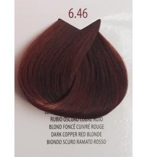 Tinta Biondo Scuro Ramato Rosso 6.46 Life Color Plus 100 ml - prodotti per parrucchieri - hairevolution prodotti