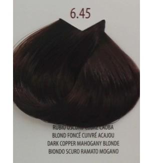 Tinta Biondo Scuro Ramato Mogano 6.45 Life Color Plus 100ml - prodotti per parrucchieri - hairevolution prodotti