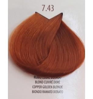 BIONDO RAMATO DORATO 7.43 LIFE COLOR PLUS 100 ML - prodotti per parrucchieri - hairevolution prodotti