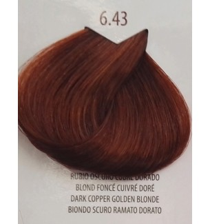 Tinta Biondo Scuro Ramato Dorato 6.43 Life Color Plus 100 ML - prodotti per parrucchieri - hairevolution prodotti