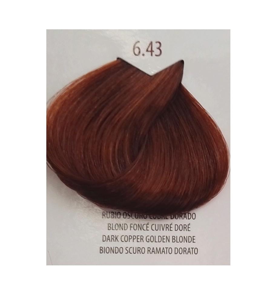 Tinta Biondo Scuro Ramato Dorato 6 43 Life Color Plus 100 Ml Hair E