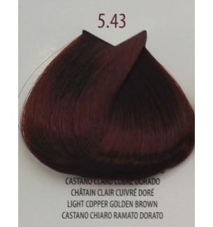 Tinta Castano Chiaro Ramato Dorato 5.43 Life Color Plus 100 ml - prodotti per parrucchieri - hairevolution prodotti