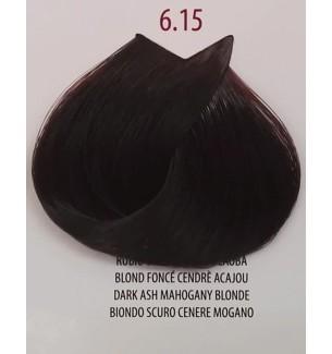 Tinta Biondo Scuro Cenere Mogano 6.15 Life Color Plus 100ml - prodotti per parrucchieri - hairevolution prodotti