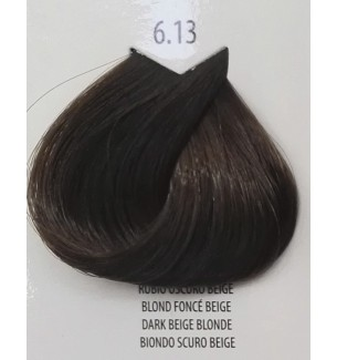 Tinta per capelli Biondo Scuro Beige 6.13 Life Color Plus 100 ML