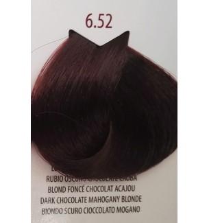 Tinta colore Biondo Scuro Cioccolato Mogano 6.52 Life Color Plus 100ML