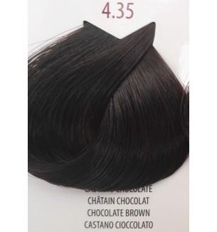 Tinta per capelli Castano Cioccolato 4.35 Life Color Plus100 ML - prodotti per parrucchieri - hairevolution prodotti