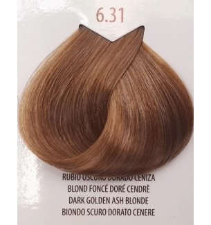 Tinta colore Biondo Scuro Dorato Cenere 6.31 Life Color Plus 100 ML - prodotti per parrucchieri - hairevolution prodotti