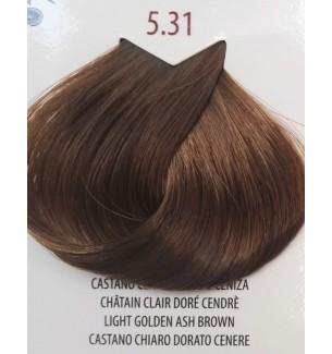 Tinta per capelli Castano Chiaro Dorato Cenere 5.31 Life Color Plus - prodotti per parrucchieri - hairevolution prodotti