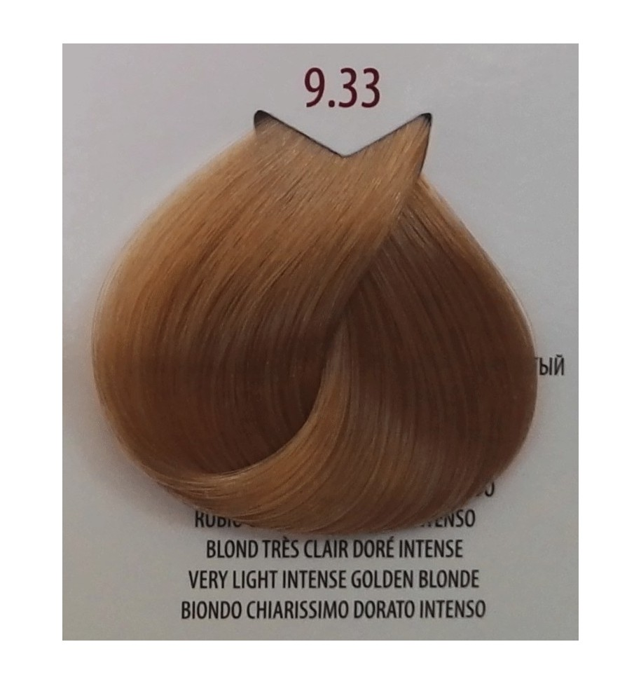 Tinta per capelli Biondo Chiarissimo Dorato Intenso 9.33 Life Color Plus 100 ML - prodotti per parrucchieri - hairevolution p...
