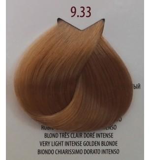 Tinta per capelli Biondo Chiarissimo Dorato Intenso 9.33 Life Color Plus 100 ML