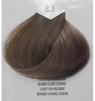 Tinta per capelli Biondo Chiaro Cenere 8.1 Life Color Plus 100 ML - prodotti per parrucchieri - hairevolution prodotti