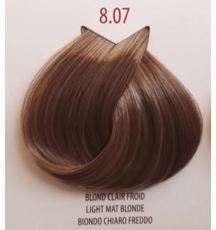 BIONDO CHIARO FREDDO 8.07 LIFE COLOR PLUS 100 ML - prodotti per parrucchieri - hairevolution prodotti