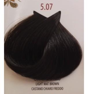 Tinta per capelli Castano Chiaro Freddo 5.07 Life Color Plus 100 ML - prodotti per parrucchieri - hairevolution prodotti