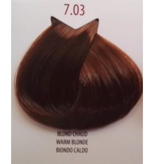 Tinta per capelli Biondo Caldo 7.03 Life Color Plus 100 ML - prodotti per parrucchieri - hairevolution prodotti