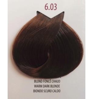 Tinta per capelli Biondo Scuro Caldo 6.03 Life Color Plus100 ML - prodotti per parrucchieri - hairevolution prodotti