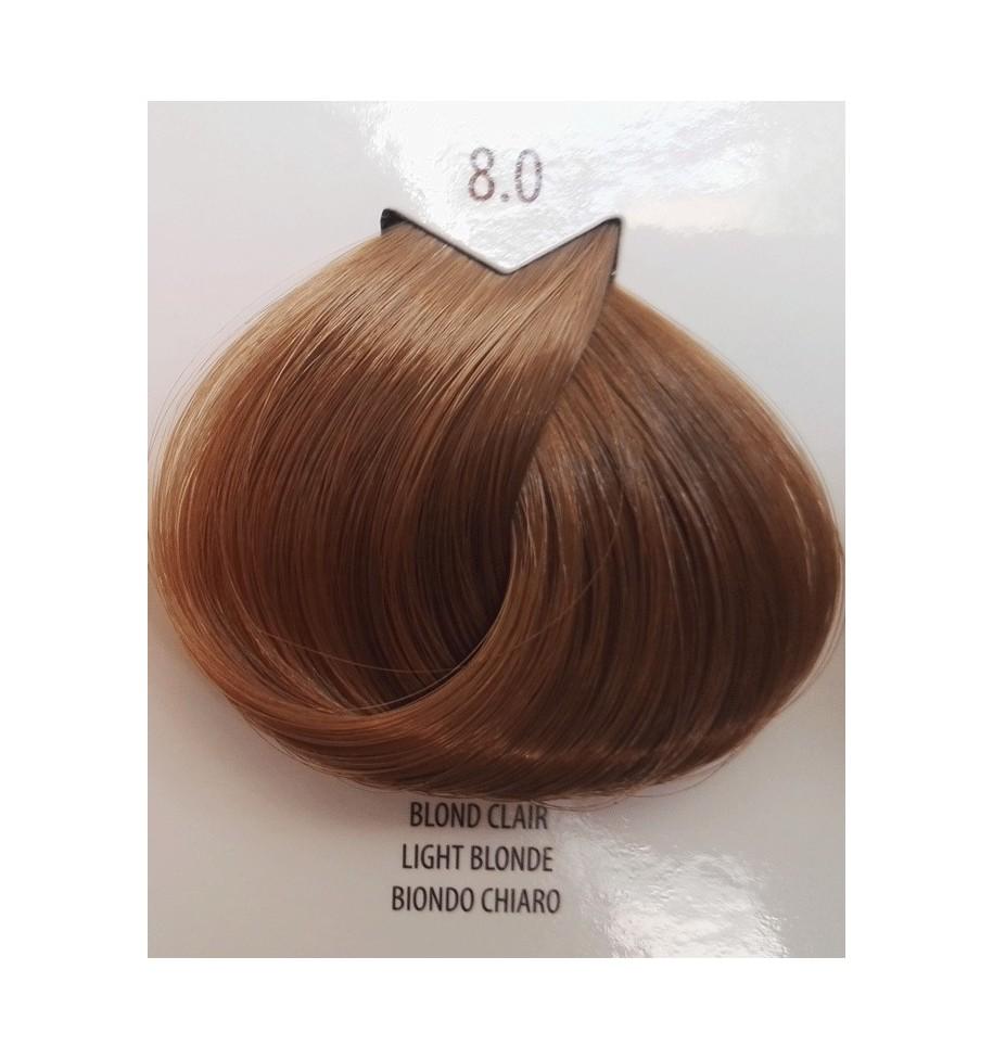 BIONDO CHIARO 8.0 LIFE COLOR PLUS 100 ML - prodotti per parrucchieri - hairevolution prodotti