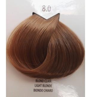 Tinta per capelli Biondo Chiaro 8.0 Life Color Plus 100 ML